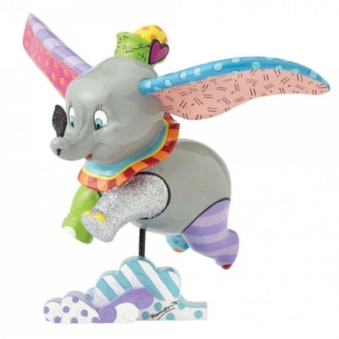 Disney By Britto Dumbo Flying Figurine