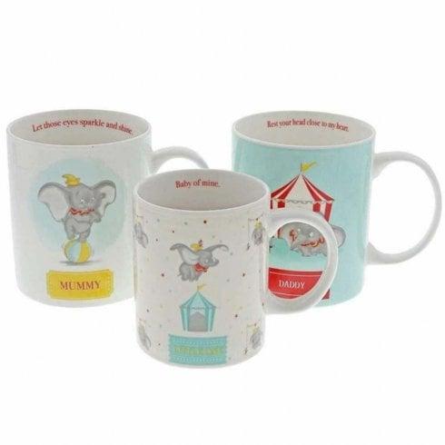 Disney Enchanting Collection Dumbo Mug Set