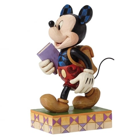 Disney Traditions Eagar to Learn Mickey Mouse Figurine