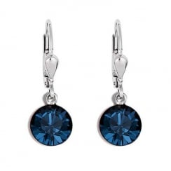 Earrings Dark Blue 0077-721