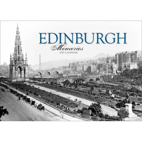 Otter House Edinburgh Memories 2019 Calendar