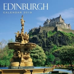 Edinburgh Wall Calendar 2019