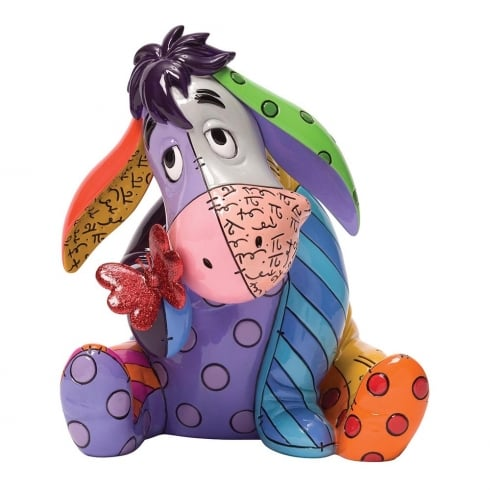 Disney By Britto Eeyore with Butterfly Figurine