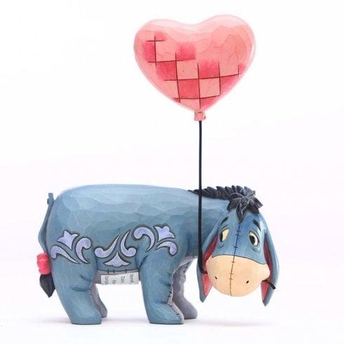 Disney Traditions Eeyore with Heart Balloon