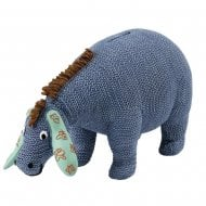 Eeyore Wobble Head Money Bank Knitted