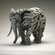 Elephant Figurine - White