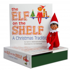 Elf On The Shelf Boy Dark