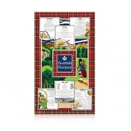 Elgate Scottish Recipes Tea Towel