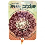 Elizabeth Spinning Dream Catcher