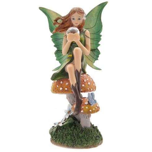 Puckator Emerald Prophecy Fairy By Lisa Parker