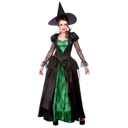 Wicked Costumes Emerald Witch Queen (S)
