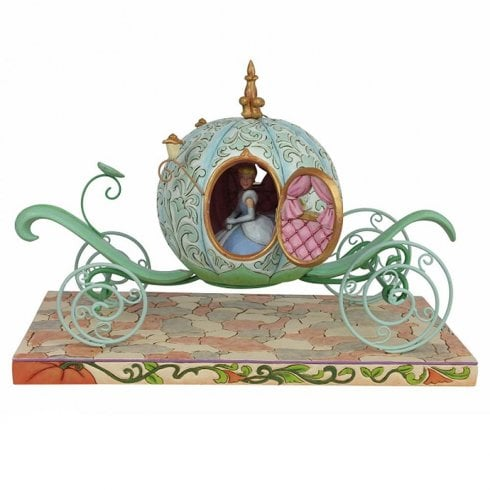 Disney Traditions Enchanted Carriage Cinderella Figurine