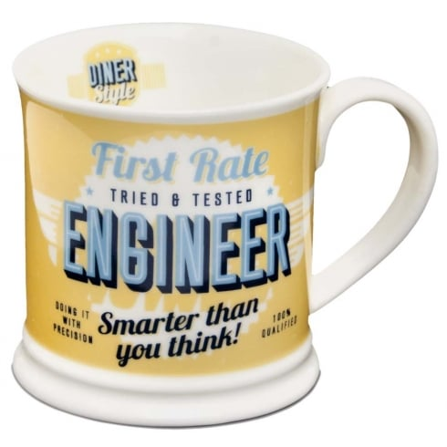 Diner Style Mugs Engineer