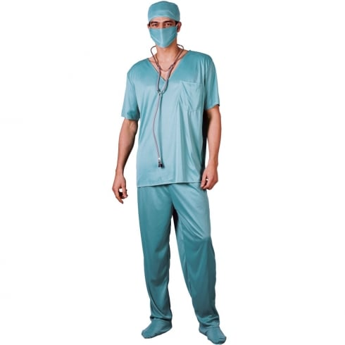 Wicked Costumes ER Surgeon XL