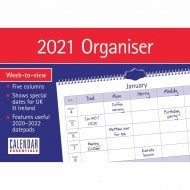 Essential A4 Family Planner Organiser 2021