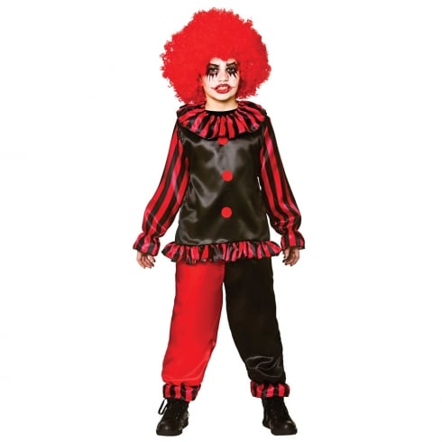 Wicked Costumes Evil Clown (8-10) Large