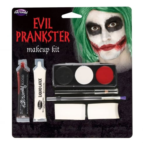Wicked Costumes Evil Prankster Makeup Kit