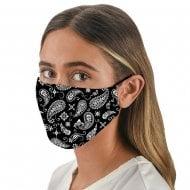 Face Covering - Black Bandana