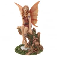 Fairy Autumn Daydream Figurine By Lisa Parker