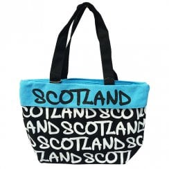 Faith Scotland White/Blue Scotland Canvas Bag