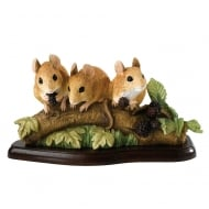 Family Outing Mice Figurine