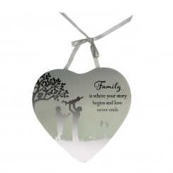 Family Story Mirror Plaque
