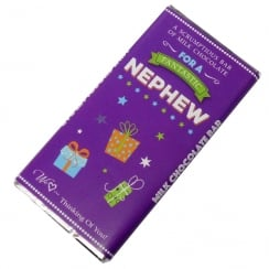 Fantastic Nephew Milk Chocolate Bar