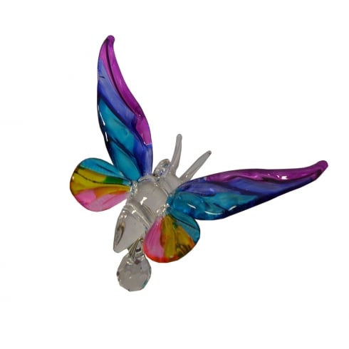 Wild Things Gifts Fantasy Glass Butterfly Tropical