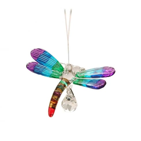 Wild Things Gifts Fantasy Glass Dragonfly Rainbow