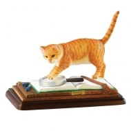 Farm Accounts Cat Figurine