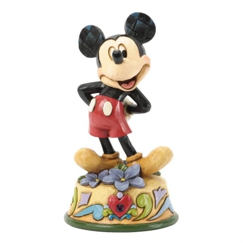 Disney Traditions February Mickey Mouse Figurine