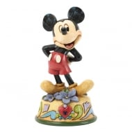 February Mickey Mouse Figurine