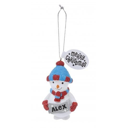 History & Heraldry Festive Friends Hanging Tree Decoration - Alex