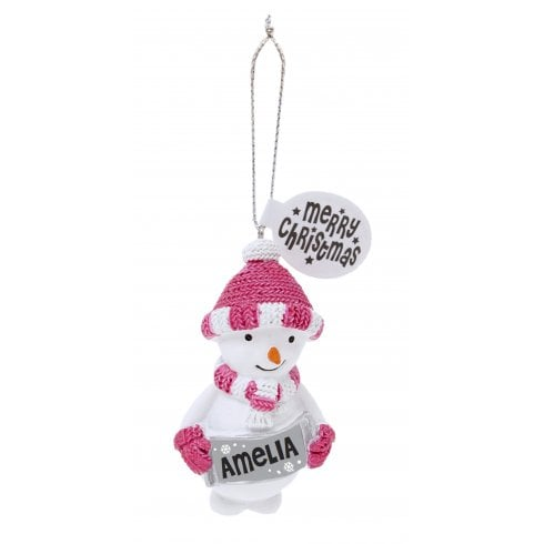 History & Heraldry Festive Friends Hanging Tree Decoration - Amelia