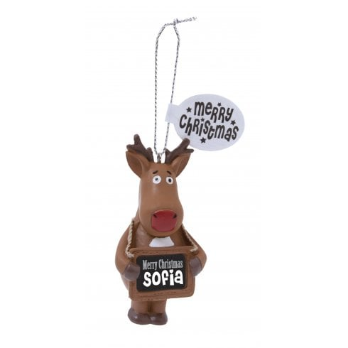 History & Heraldry Festive Friends Hanging Tree Decoration - Sofia