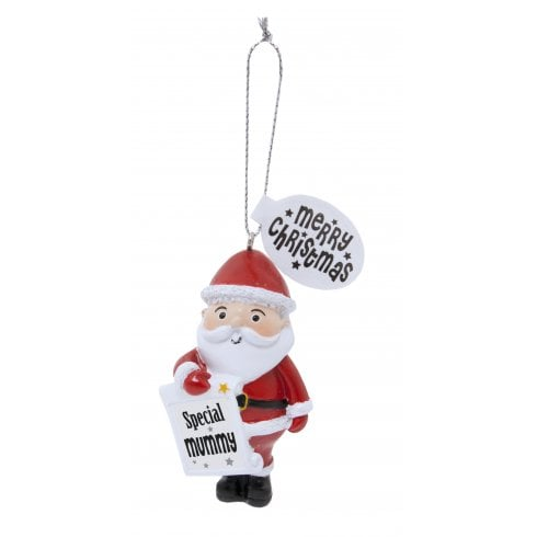 History & Heraldry Festive Friends Hanging Tree Decoration - Special Mummy