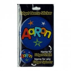 Fidget Name Sticker Aaron
