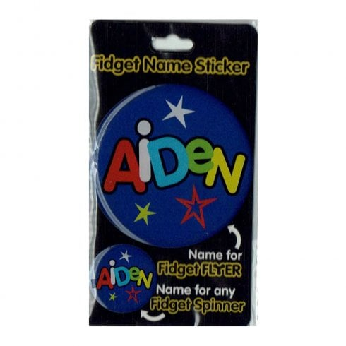 History & Heraldry Fidget Name Sticker Aiden