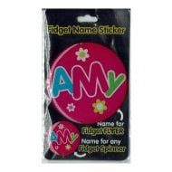 Fidget Name Sticker Amy