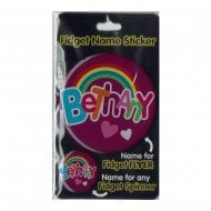 Fidget Name Sticker Bethany