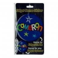 Fidget Name Sticker Cameron
