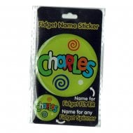 Fidget Name Sticker Charles