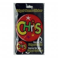 Fidget Name Sticker Chris