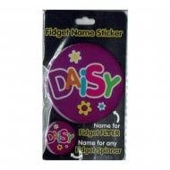 Fidget Name Sticker Daisy