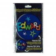 Fidget Name Sticker Edward