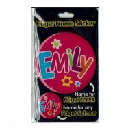 Fidget Name Sticker Emily