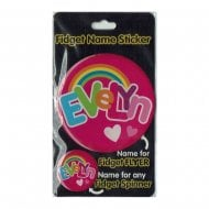 Fidget Name Sticker Evelyn