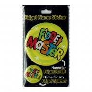 Fidget Name Sticker Fidget Master