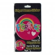Fidget Name Sticker Florence