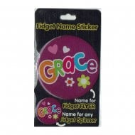Fidget Name Sticker Grace